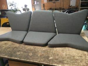 Réalisation de prototypes de fauteuils par la sellerie minot
