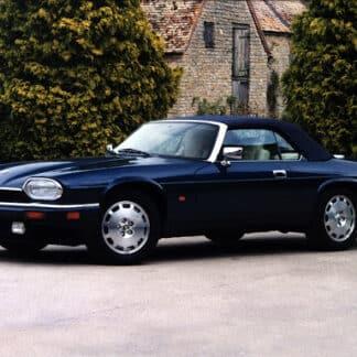 Remplacement capote jaguar xjs cabriolet par la SELLERIE MINOT