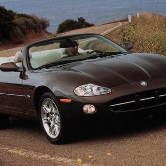 Remplacement capote jaguar xk8 cabriolet par la SELLERIE MINOT