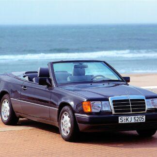 Remplacement capote mercedes classe e cabriolet a124 par la SELLERIE MINOT