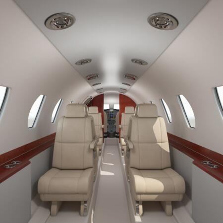 Les avions d'affaires et de loisirs